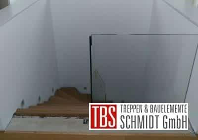 Bruestungsgelaender Faltwerktreppe Braunshausen der Firma TBS Schmidt GmbH
