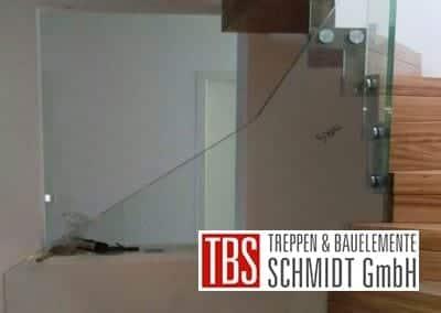 Glasgelaender Faltwerktreppe Braunshausen der Firma TBS Schmidt GmbH