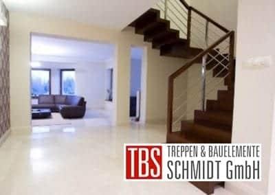 Gelaender Faltwerktreppe Dormagen der Firma TBS Schmidt GmbH