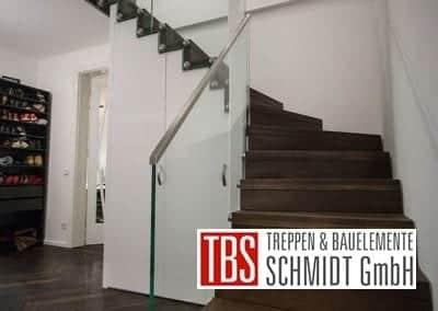 Gelaender Faltwerktreppe Frankfurt Westend der Firma TBS Schmidt GmbH