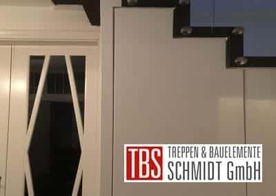 Punkthalter Faltwerktreppe Frankfurt Westend der Firma TBS Schmidt GmbH