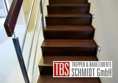 LED-Beleuchtung Faltwerktreppe Fulda der Firma TBS Schmidt GmbH