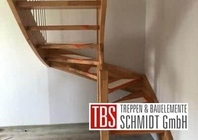 Wangentreppe Treppenmontage der Firma TBS Schmidt GmbH