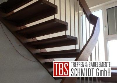 Wangen-Bolzentreppe Treppenmontage der Firma TBS Schmidt GmbH