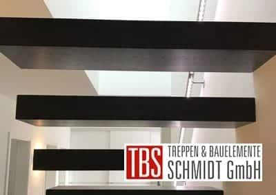 Rueckansicht Kragarmtreppe Rheinzabern der Firma TBS Schmidt GmbH