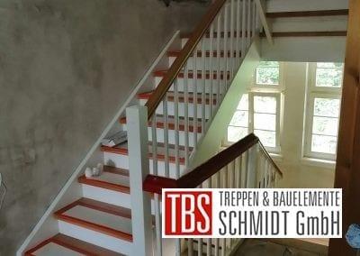 Treppenmontage Colortreppe der Firma TBS Schmidt GmbH