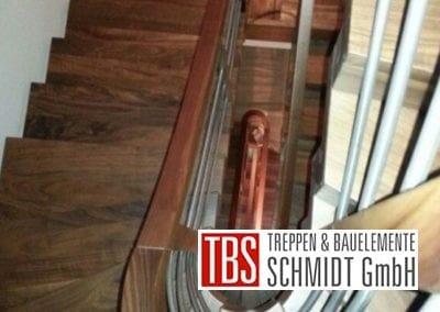 Handlauf Faltwerktreppe Hameln der Firma TBS Schmidt GmbH