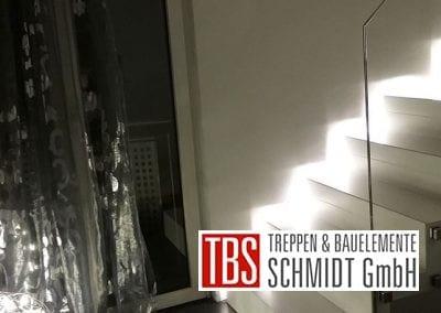 LED-Beleuchtung Faltwerktreppe Hamm der Firma TBS Schmidt GmbH