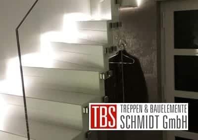 Glasgelaender Faltwerktreppe Hamm der Firma TBS Schmidt GmbH