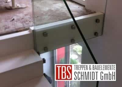 Bruestungsgelaender Faltwerktreppe Hamm der Firma TBS Schmidt GmbH