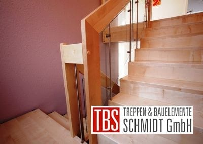 Gelaender Faltwerktreppe Hanau der Firma TBS Schmidt GmbH