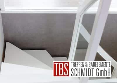 Gelaender Faltwerktreppe Heidelberg der Firma TBS Schmidt GmbH