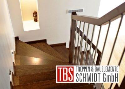 LED-Beleuchtung Wangentreppe Kirchheimbolanden der Firma TBS Schmidt GmbH