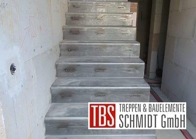 Montagebild Stahlblechfaltwerktreppe TBS Schmidt GmbH