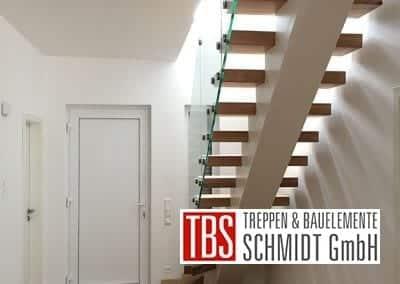 Rueckansicht Mittelholmtreppe Wiesbaden der Firma TBS Schmidt GmbH