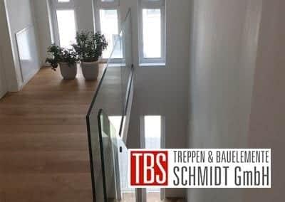 Bruestungsgelaender Mittelholmtreppe Wiesbaden der Firma TBS Schmidt GmbH