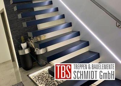 Wandhandlauf Kragarmtreppe Eisenberg der Firma TBS Schmidt GmbH