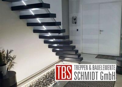 Rueckansicht Kragarmtreppe Eisenberg der Firma TBS Schmidt GmbH